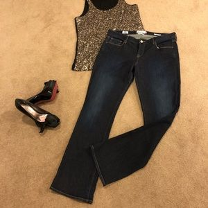 LUCKY🍀BRAND Lolita Boot Cut Jeans Size 12 worn 1x